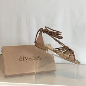 b5166aae7e3 Anthropologie Shoes - NIB Anthropologie- Elysess Rope Gladiator Sandals